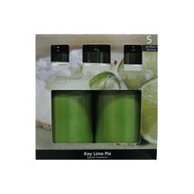image of Mainstays Key Lime Pie Candle Set,